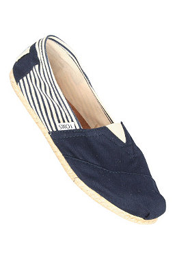 TOMS Womens Rope Sole university navy