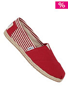 TOMS Womens Rope Sole university red