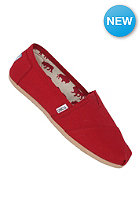 TOMS Womens Uni Classic Canva red