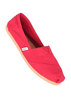 TOMS Womens Uni Classic Canvas red