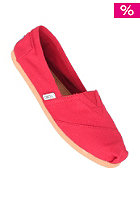Womens Uni Classic Canvas red