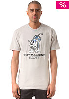 TOY MACHINE R2DTF S/S T-Shirt silver