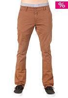 TPDG SUPPLIES CO Bushwick Chino Slim Pant dark brown