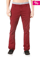 TPDG SUPPLIES CO Bushwick Chino Slim Pant red wine