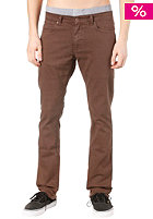 TPDG SUPPLIES CO Nostrand Dyed Slim Pant dark brown