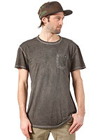 TPDG SUPPLIES CO Pocket Tee S/S T-Shirt black acid washed