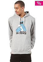 TRAP Best Taste Hooded Sweat heather grey