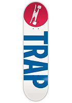 TRAP Big Logo Reverse 8.125 white