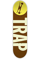 TRAP Big Logo Wood 7.875 brown