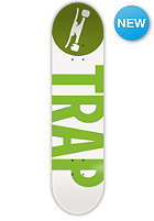 TRAP Deck Big Logo Leaf 7.75 green