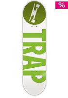 TRAP Deck Big Logo Leaf 7.75 green