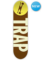 TRAP Deck Big Logo Wood 7.8 brown