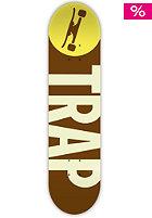 TRAP Deck Big Logo Wood 7.80 brown