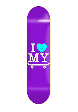 TRAP I Love My Board Deck purple 7.5