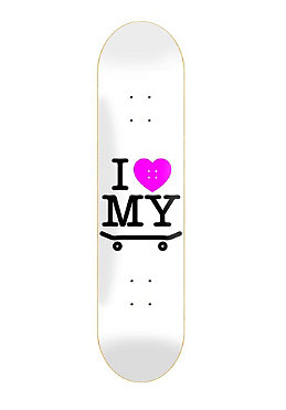 TRAP I Love My Board Deck white 7.75
