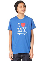 TRAP I Love My Board S/S T-Shirt royal blue