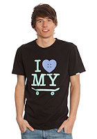 TRAP I Love My Skateboard S/S T-Shirt black