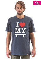 TRAP I Love My Skateboard S/S T-Shirt navy