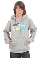 TRAP KIDS/ Brocken Hooded Sweat heather grey