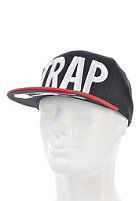 TRAP Logo Cap black / red