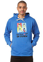 TRAP New Best Taste Hooded Sweat royal blue
