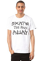 TRAP Skate the Pain Away S/S T-Shirt white