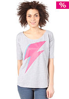 TRAP Tilda Bowie S/S T-Shirt heather grey