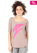 TRAP Tilda Bowie S/S T-Shirt heather stuccu