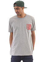 TRAP Trap Pocket S/S T-Shirt heather grey