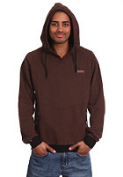 TRAP Udd Hooded Sweat heather brown