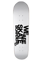 TRAP We Are Skateboarders Deck white 7.75