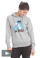 TRAP Womens Best Taste Hooded Sweat heather grey