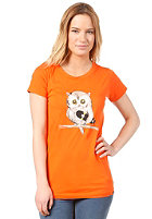 TRAP Womens Eule S/S T-Shirt orange