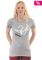 TRAP Womens Gro�er Schwan S/S T-Shirt heather grey