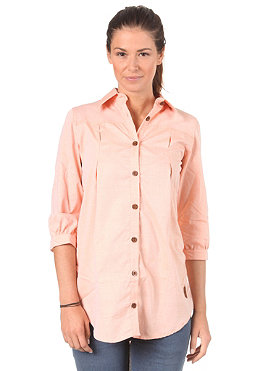 TRAP Womens Hanna Button Shirt light orange