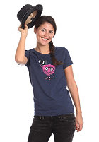 TRAP Womens Himbeere S/S T-Shirt heather navy