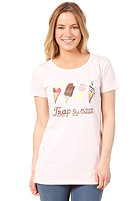 TRAP Womens New Ice Cream S/S T-Shirt rosa