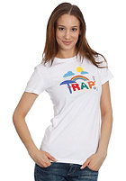 TRAP Womens Rainbow S/S T-Shirt white