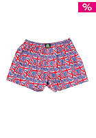 TREESOME England Boxershort blue/red