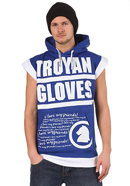 TROYAN Butsh Sleeveless Hooded Sweat blue