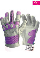 TROYAN Womens T4 Shorty Glove grey/purple