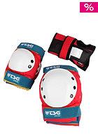 TSG Basic Skate Protection red white blue