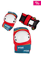 Junior Skate Protection red-white-blue