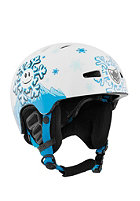 TSG Kids Arctic Nipper Mini Graphic Design Helmet snowflake
