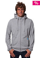 TWOTHIRDS Bisca Hooded Zip Sweat grey melange