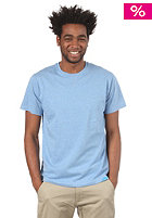 TWOTHIRDS New Raw S/S T-Shirt light blue melange