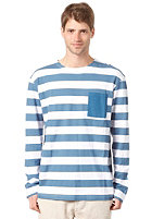 TWOTHIRDS Ortigue L/S T-Shirt enzyme blue
