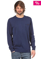 TWOTHIRDS Vega Crew Woolsweat navy blue