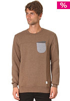 UCON Aden Sweat dark-sand-melange