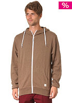 UCON College Hooded Jacket dark-sand-melange